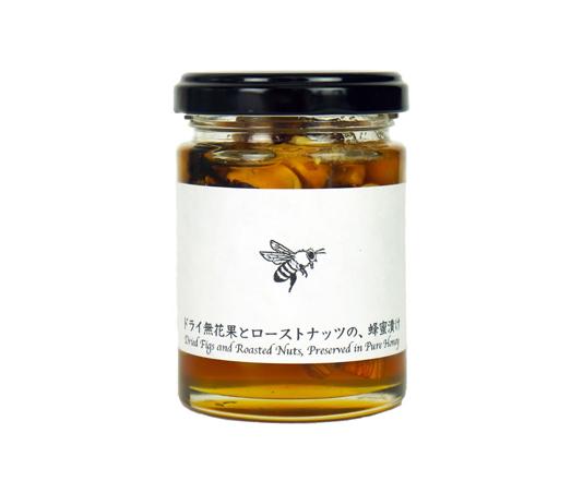 ドライ無花果とローストナッツの蜂蜜漬け 125g
